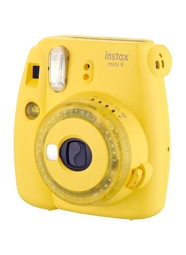 Fujifilm instax mini 9 Sari Fotograf Makinesi & 10'lu Film Renkli